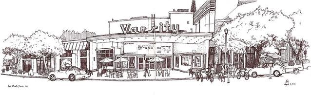 varsity theatre, davis