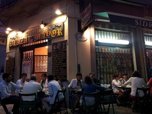 Gijón | Plaza Mayor | Terraza