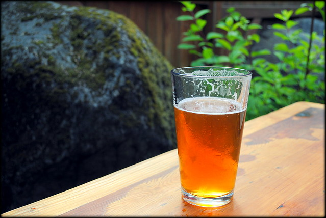 an IPA at Skyline BBQ - Rhododendron, OR