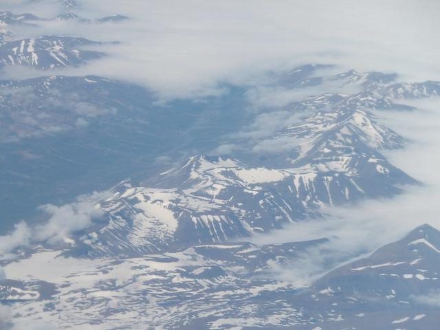 hoog boven IJsland