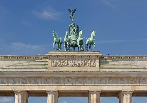 Puerta de Brandenburgo, Berlin, Alemania