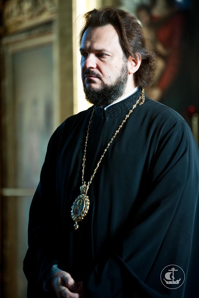 Ректор СПбПДА, епископ Гатчинский Амвросий