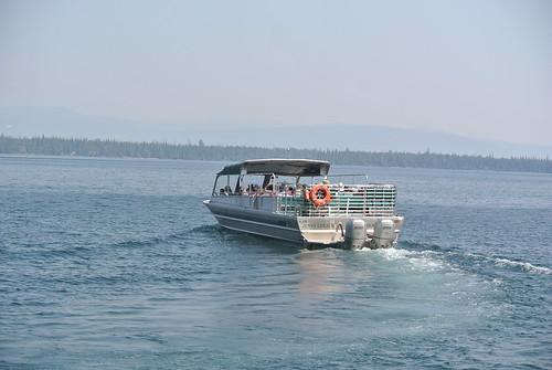 Jenny Lake boat