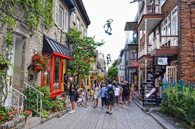 Visit to quebec city 4 street browsing and restaurants for Quebec city places to visit