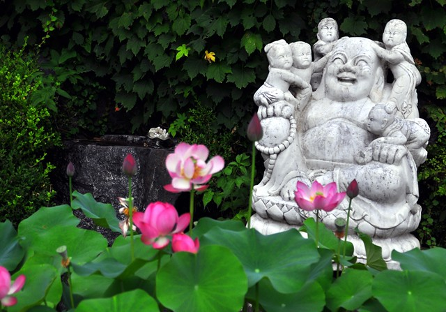 Laughing Buddha -- Bongwon Temple -- Seoul