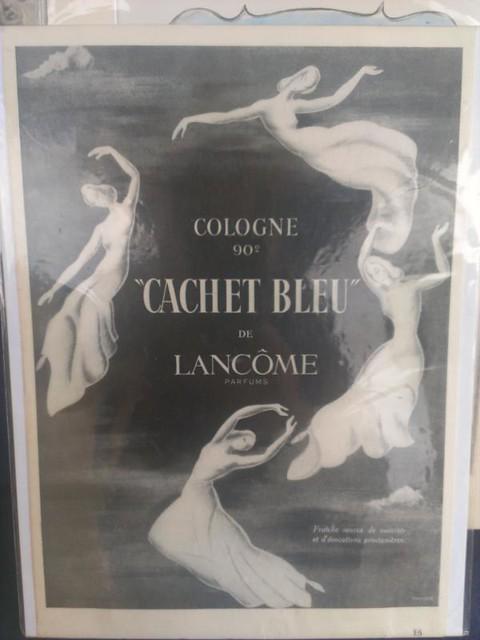 Lancome Cachet Bleu cologne