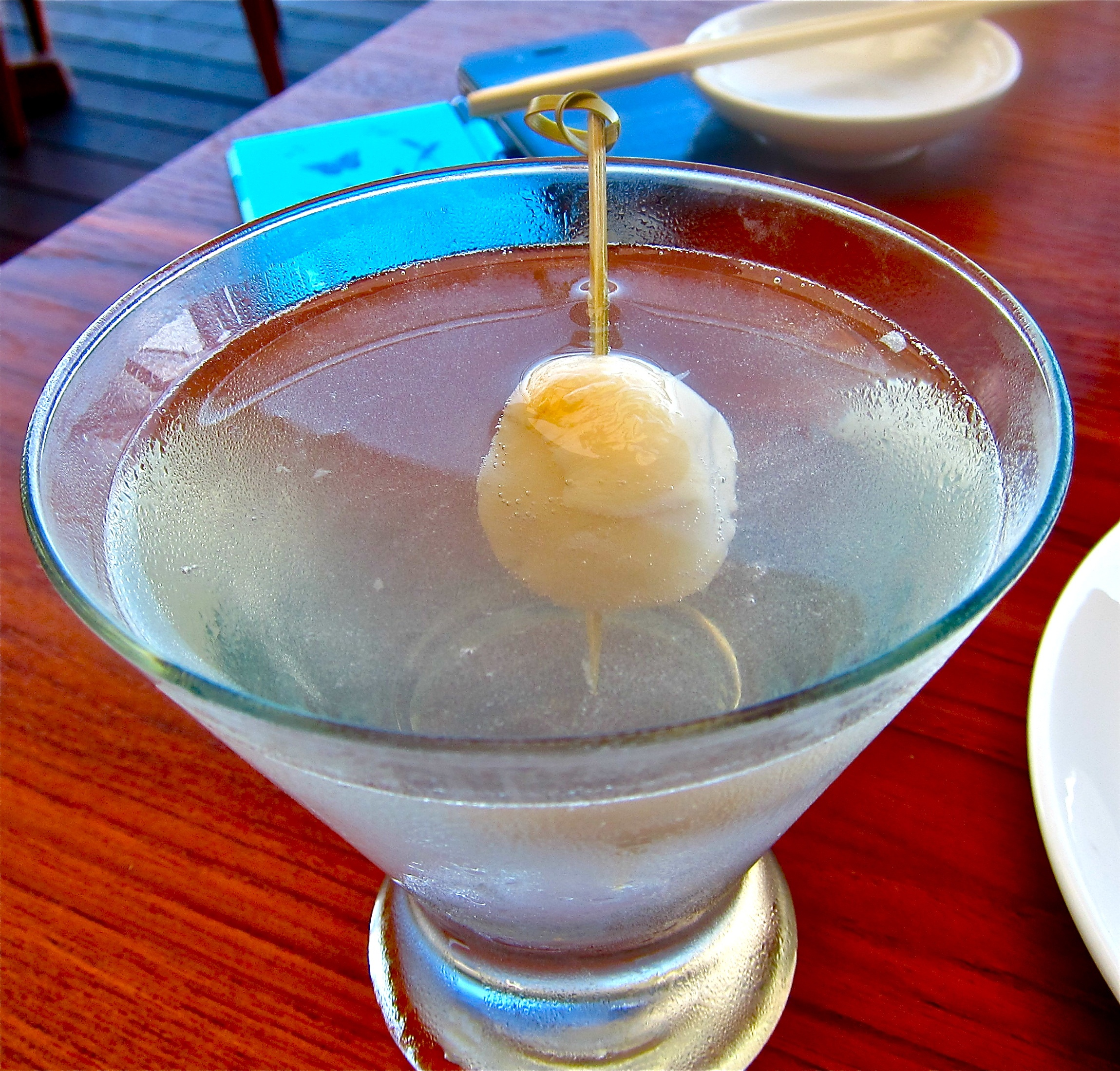 the perfect lychee martini