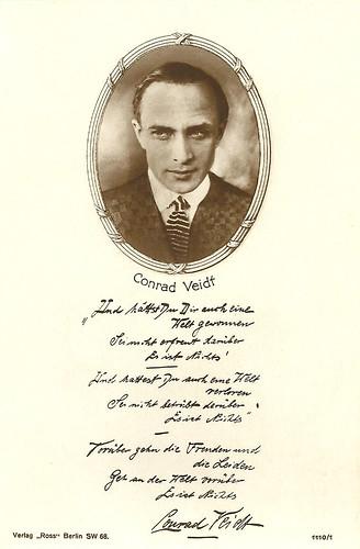 Conrad Veidt, 3