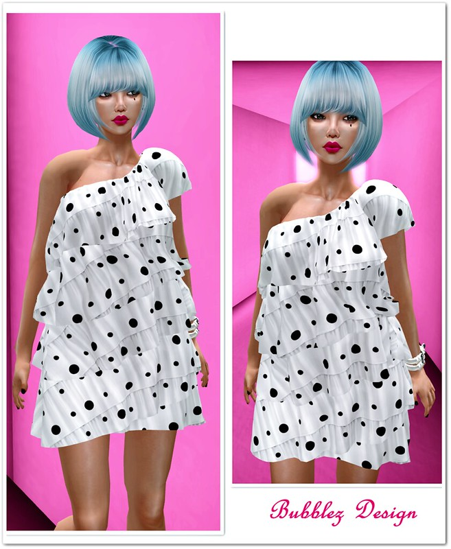 BB - Angela Ruffle Dress (mesh)2