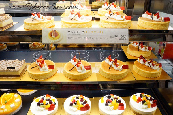 tokyo station - gransta area - cakes and desserts-008