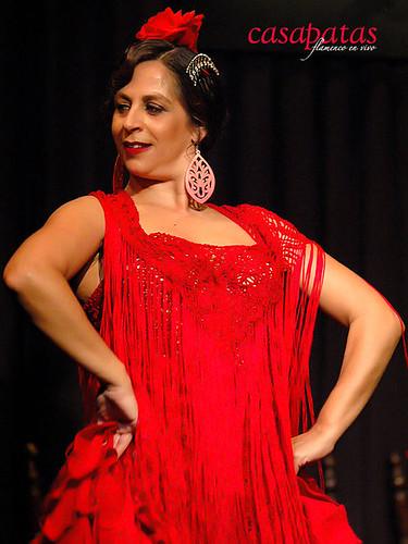 Raquela Ortega, bailaora