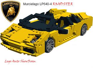 Lamborghini Murcielago Roadster lp640-4