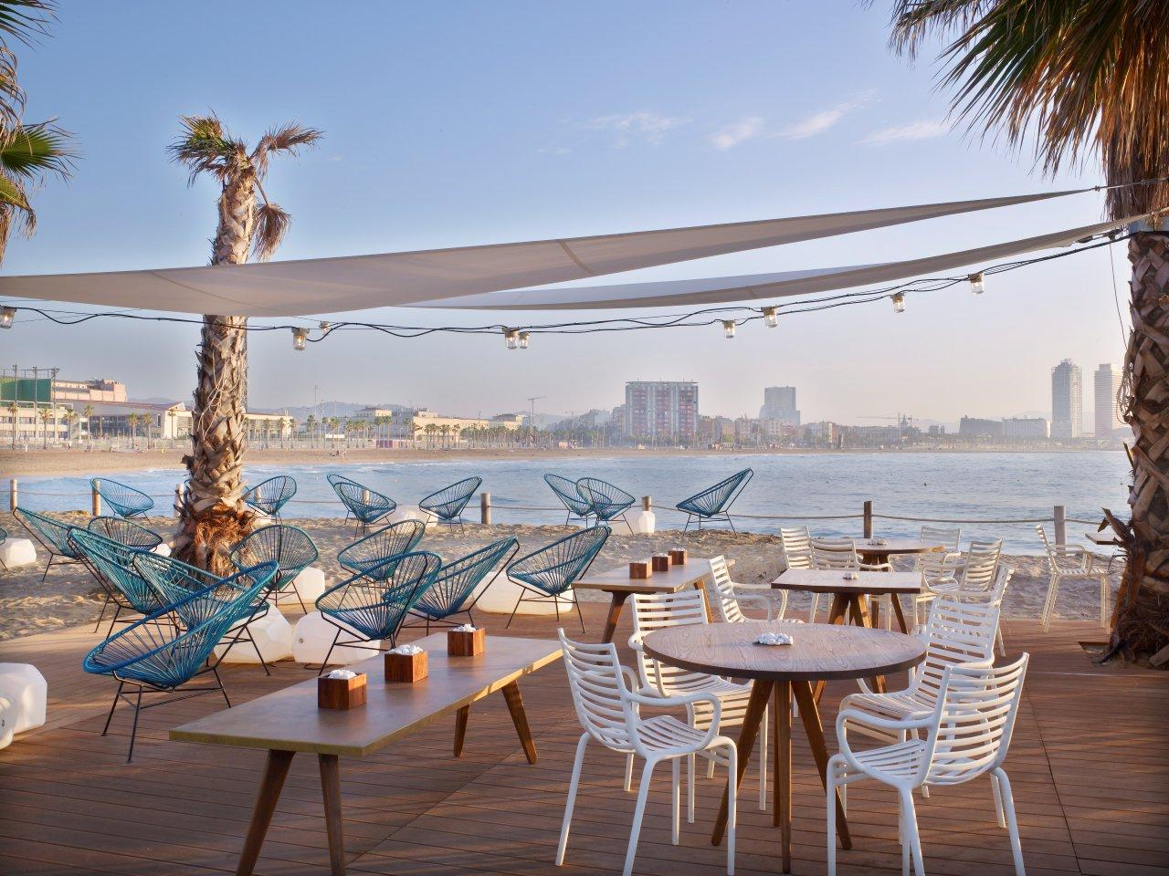 Salt salt beach club terrace by w barcelona flickr - Salt w barcelona ...