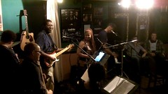 Carla sits in with Curtis and the Dilettantes