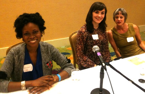 Good Vibes Summit Panelists Abiola Abrams, Tracy Clark-Flory, Lynn Comella