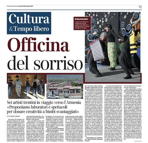 Corriere del Trentino 8_11_2012
