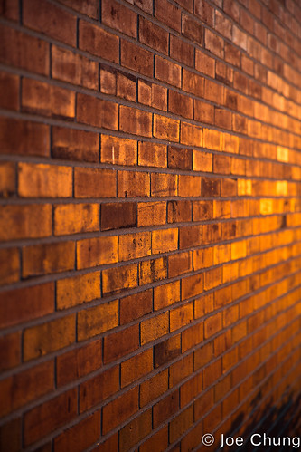 sunset sun colors gold dawn golden lawrence dof unitedstates dusk bricks indiana