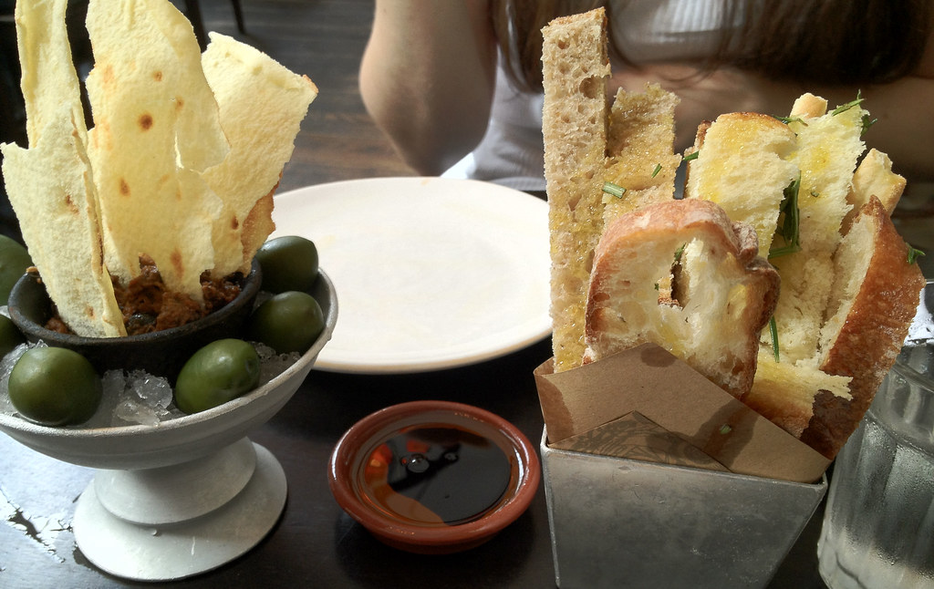 jambes italian olives and bread (on flickr)
