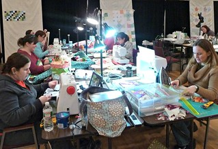 Sewing room or sweatshop?