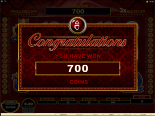 CashOccino Bonus Prize