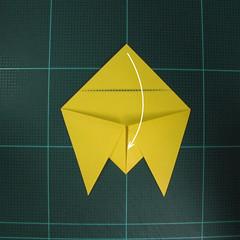 วิธีพับกระดาษเป็นรูปจั้กจั่น (Origami Cicada) 004