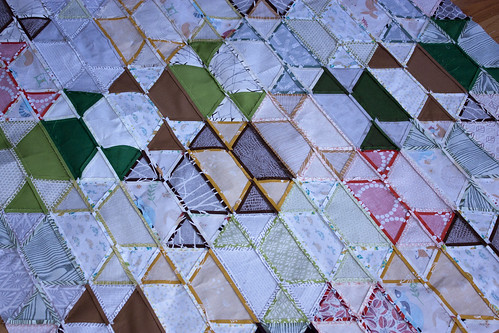 Disco Quilt seams