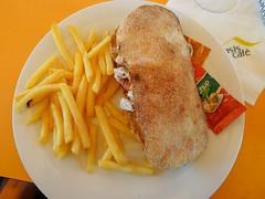 Fast food in Casablanca