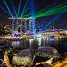 Marina Bay Sands Laser Show by DanielKHC