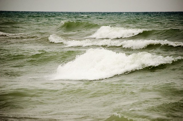 More breaking waves
