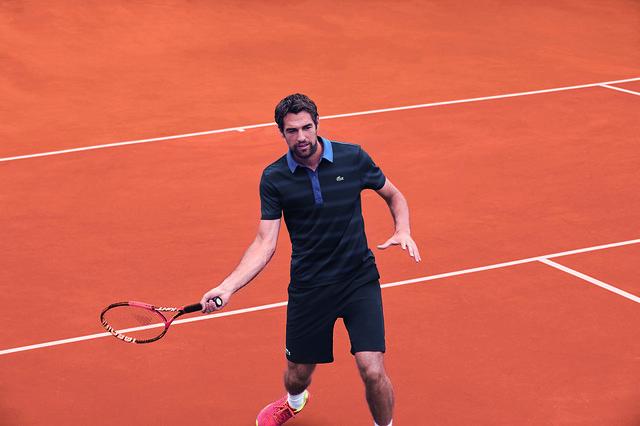 Jérémy Chardy Roland Garros 2016 outfit