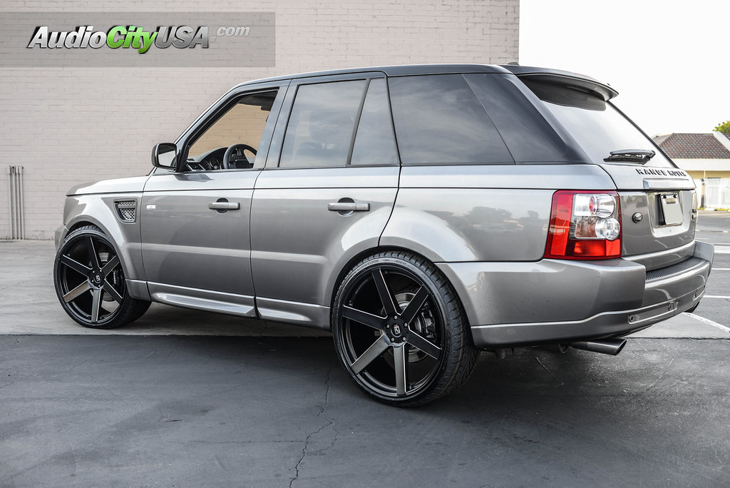 2008 Range Rover Hse Supercharged 24 Quot Koko Kuture Wheels