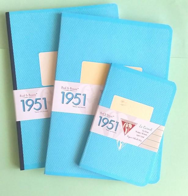 Clairefontaine retro 1951 notebooks