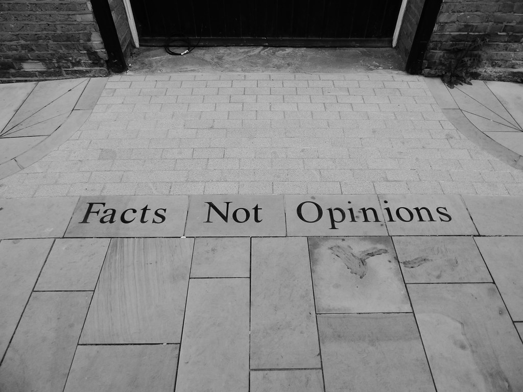 Facts Not Opinions