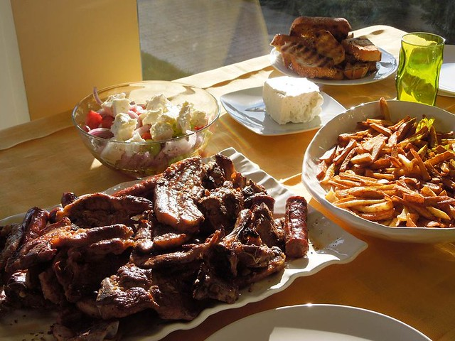 food in Greece :D