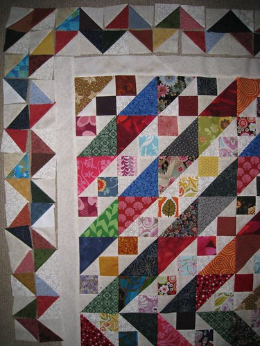 Scrap Attack: zigzag borders