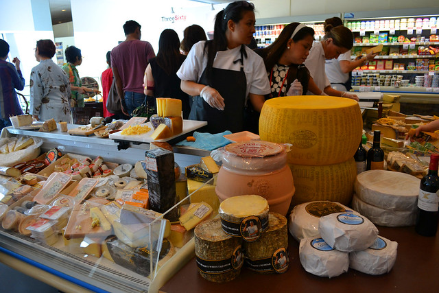 Assorted Cheese, Three-Sixty Marketplace at Savour 2012