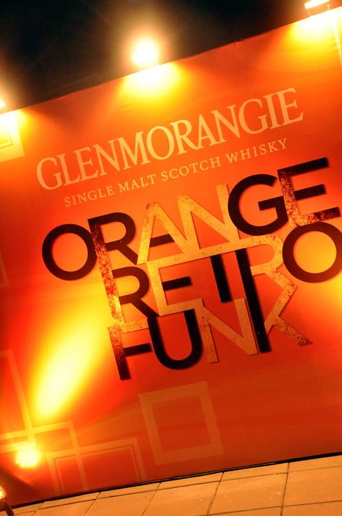 Orange Retro Funk 3