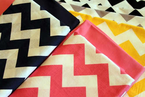 Riley Blake Chevrons for my next Design Team Project!