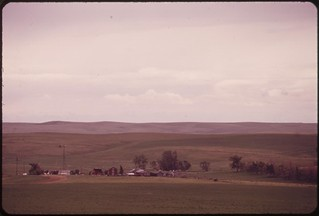 Ranch in the Powder River Basin, 06/1973