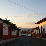 Patzcuaro at dusk