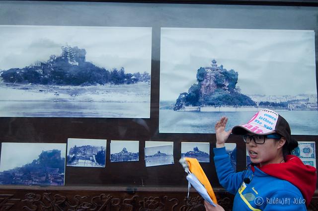 History of Shibaozhai pagoda