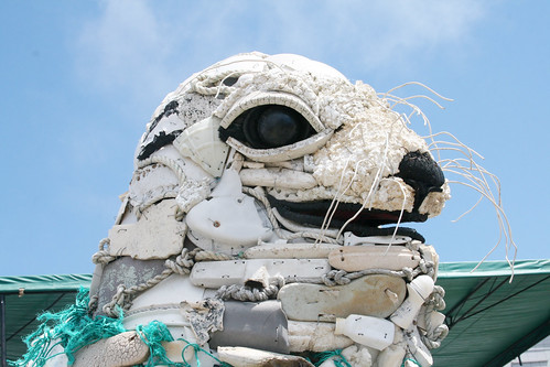Trash Seal Art