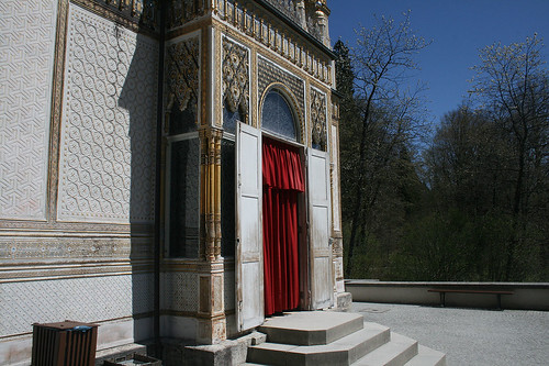 Eingang zum Maurischen Kiosk - Schloß Linderhof