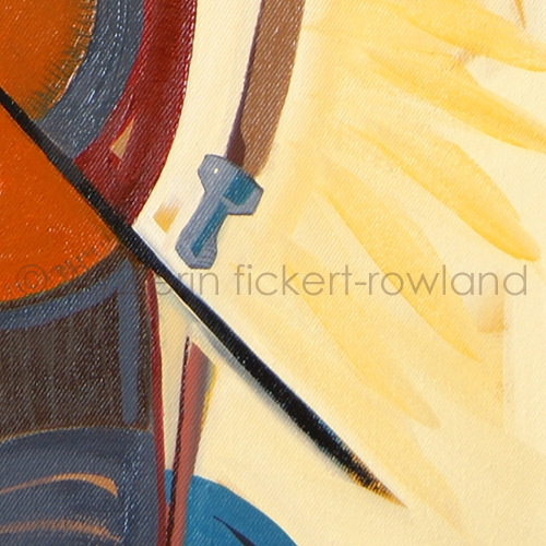 """Illumination"" Original Painting by Erin Fickert-Rowland-Detail 3"