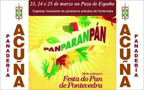Pontevedra 2012 - Festa do Pan - cartel