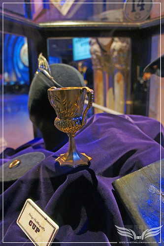 The Establishing Shot: The Making of Harry Potter Tour - Interior Sets Helga Hufflepuff's Cup Horcrux by Craig Grobler