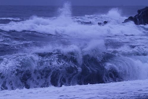 ocean beach nature rock japan coast wave 日本 seashore kochi 高知 桂浜