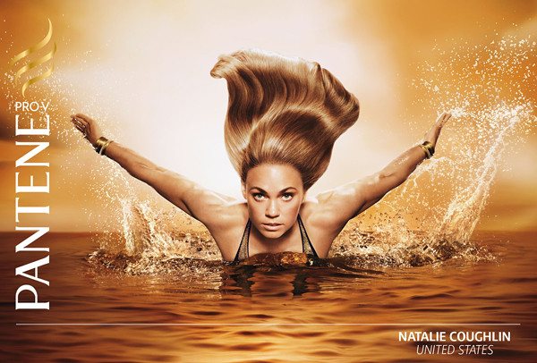 Pantene Olympic campaign: Nathalie Coughlin