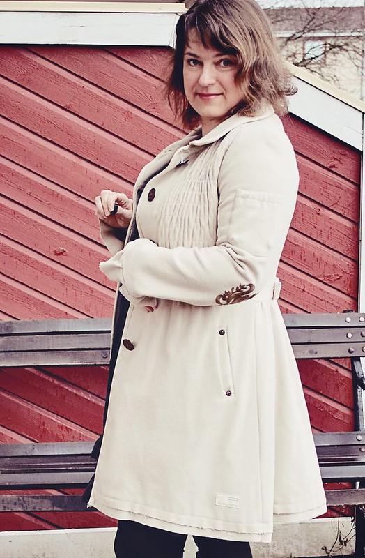 Melton surprise coat #463