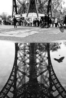 Eiffel Tower (and the monkey see monkey do story)
